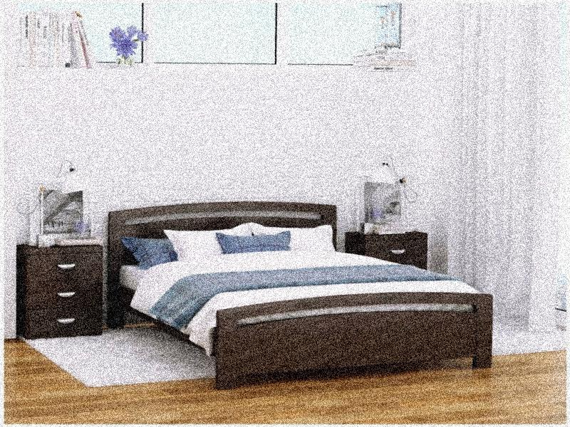 спальни из массива сосны