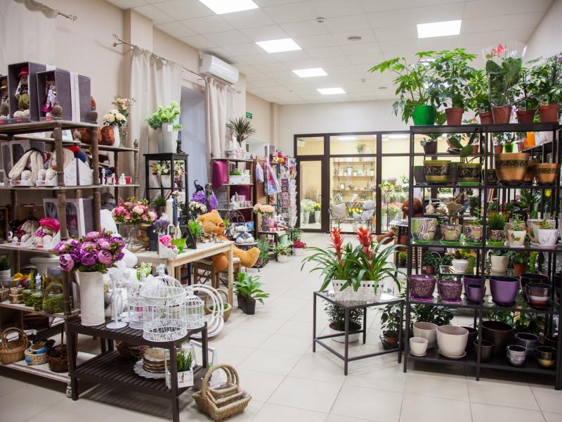Магазин цветов