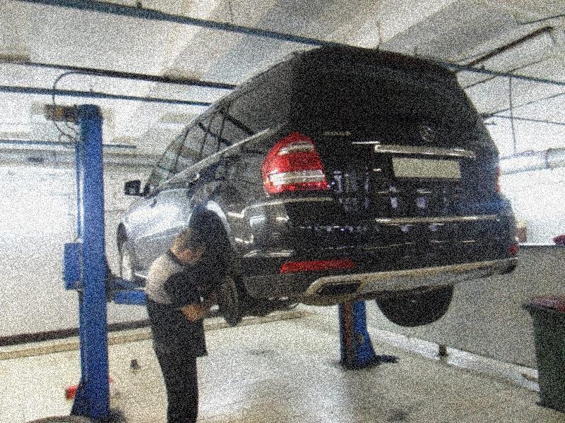 техническое обслуживание Мерседеса