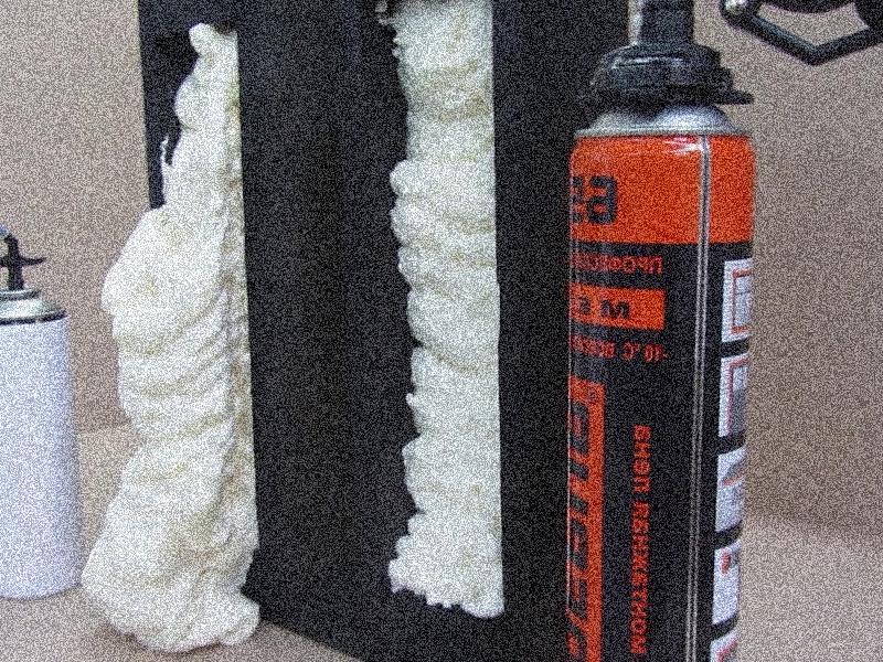 противопожарная и негорючая монтажная пена