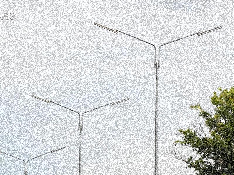 опоры уличного освещения