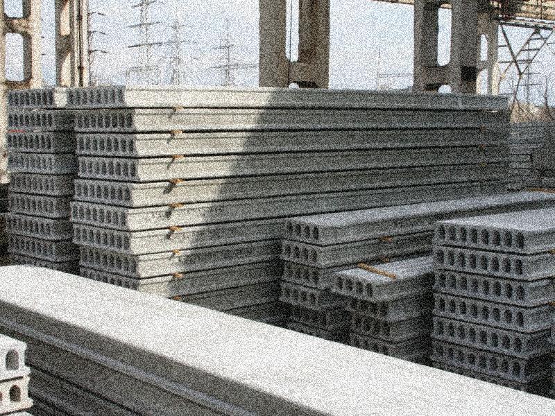 Плиты перекрытия ПК, ПБ и ПНО, плиты ребристые