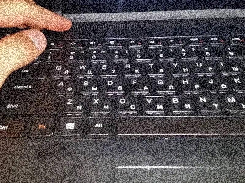 клавиатура нотбук не работает