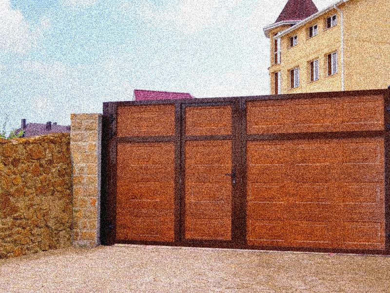 Купить въездные уличные ворота