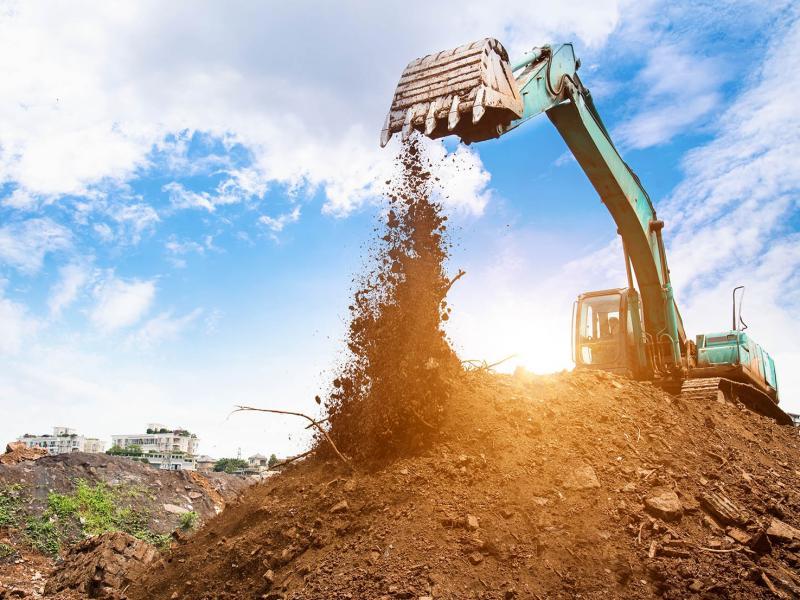 Подсчет объемов земляных работ