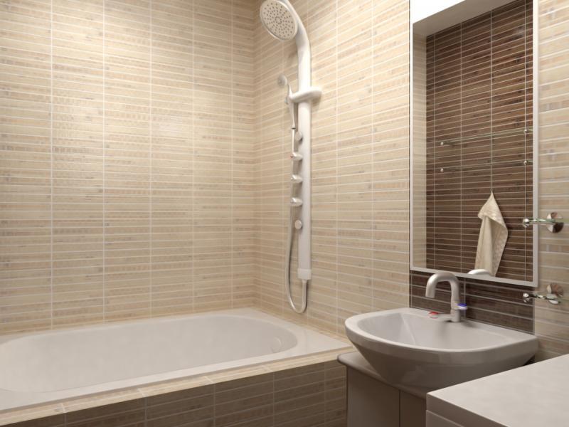 Какую плитку для ванной выбрать