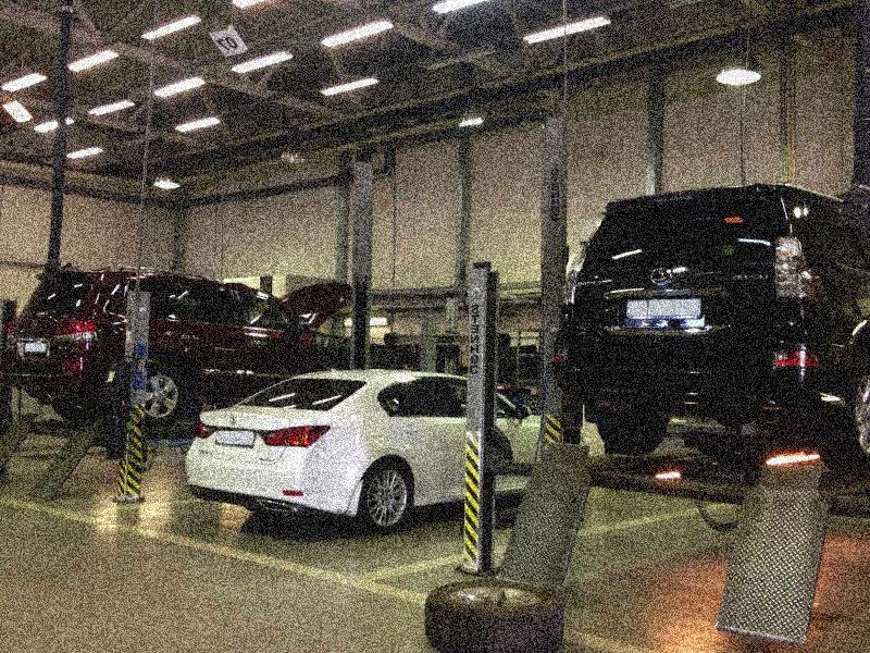 качественное обслуживание Лексус в Москве