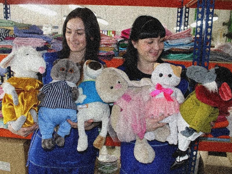 Пошив и производство мягких игрушек