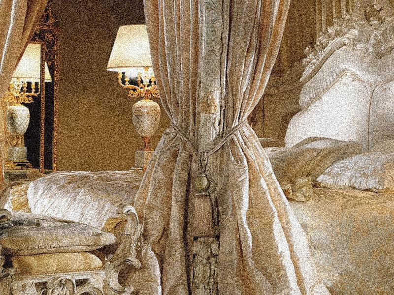 спальни белого цвета из массива