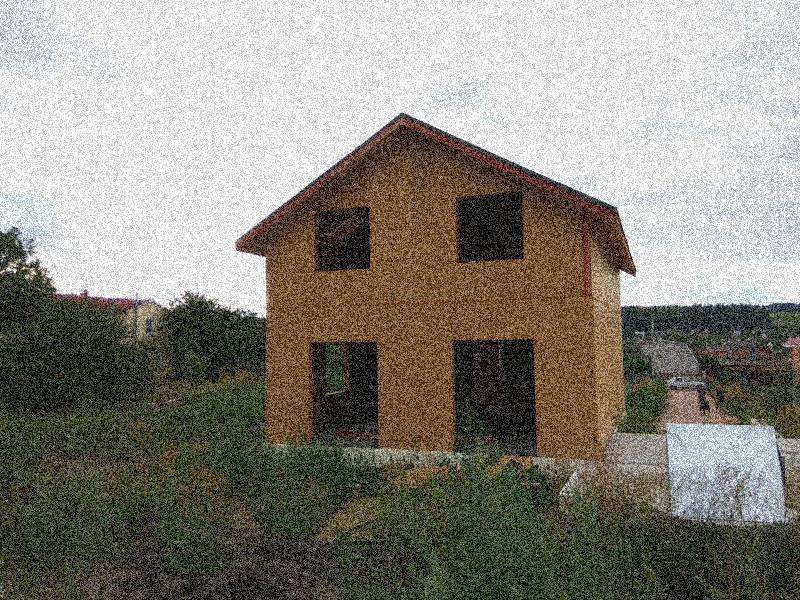 ᐉ Дома из СИП панелей в Украине